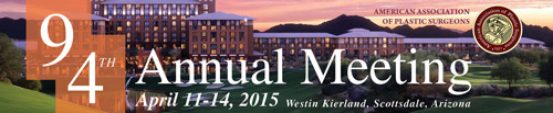 AAPS 94th Annual Meeting, April 11-14 2015, Westin Kierland, Scottsdale, AZ